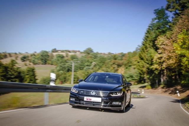 Komfortowe zawieszenie gwintowane KW – VW Passat B8 4Motion | KW